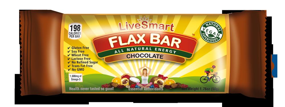 Chocolate Flaxbar